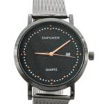 ساعت تقویم دار مردانه - ساعت حصیری امپاور