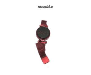 ساعت مگنتی led - ساعت دخترانه اهنربایی ال ای دی - ساعت والار کلی فروشی عمده تک