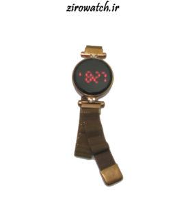 ساعت مگنتی led - ساعت دخترانه اهنربایی ال ای دی - ساعت والار